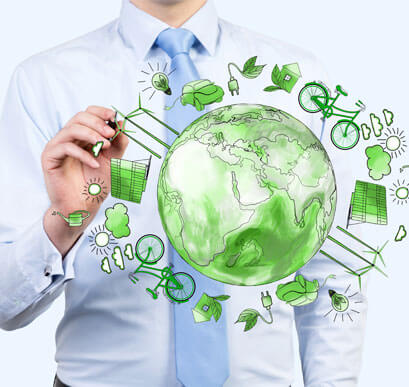 politique environnementale imprimvert