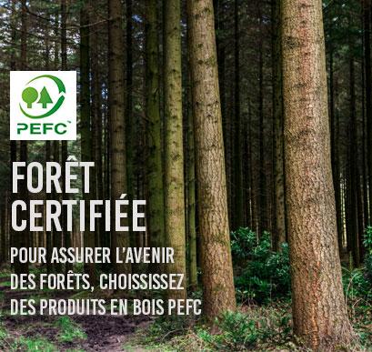 forêts certifées PEFC