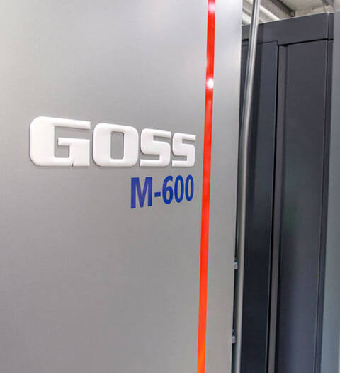 Impression rotative Goss M600